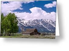 Grand Teton Np Greeting Card