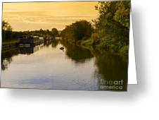 Grand Union Canal In Berkhampsted Greeting Card