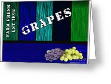 Grape Farm Greeting Card