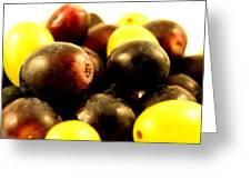 Grapes Greeting Card