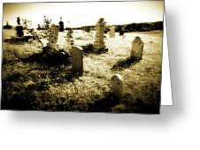 Graveyard 4724 Greeting Card