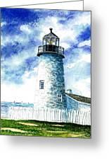 Great Lakes Light II Greeting Card