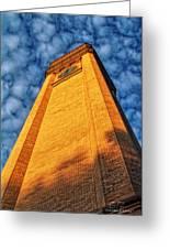 Great Northern Clock Tower Greeting Card by Dan Quam