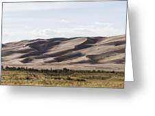 1 Great Sand Dunes Panorama Greeting Card