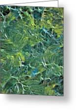 Leaves In The Wind Greeting Card