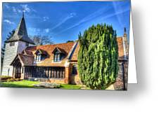 Greensted Church Ongar Greeting Card