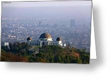 Griffith Observatory Greeting Card