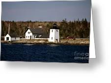 Grindel Point Lighthouse  Greeting Card