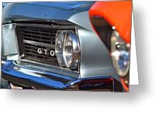 GTO Greeting Card