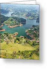 Guatape Lake Greeting Card