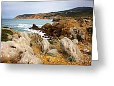 Guincho Cliffs Greeting Card