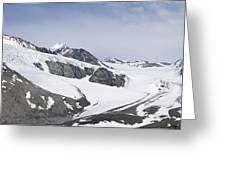 Gulkana Glacier Greeting Card