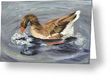 Gus The Goose Greeting Card