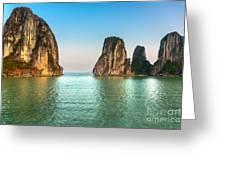 Halong Bay -vietnam Greeting Card