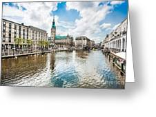 Hamburg Greeting Card