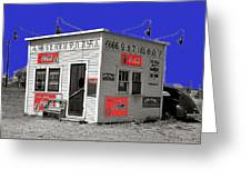 Hamburger Stand Coca-cola Signs Russell Lee Photo Farm Security Administration Dumas Texas 1939-2014 Greeting Card
