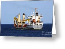 Han Xin Ship Greeting Card