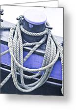 Harbour Rope Greeting Card