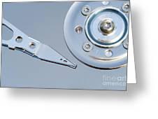Hard Disc Greeting Card