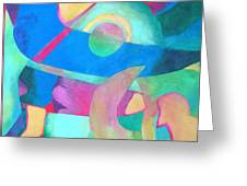Harmony In G Greeting Card by Diane Fine