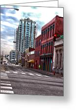 Street Photography Nashville Tn Greeting Card