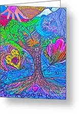 Hearts Of Nature Greeting Card