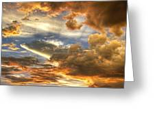 Heavenly Skies  Greeting Card