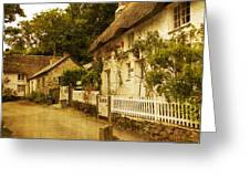 Helford Cottages Greeting Card