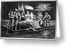 Hernando De Soto (c1500-1542) Greeting Card