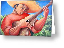 Hidalgo Campesino Greeting Card