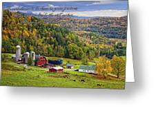 Hillside Acres Farm Greeting Card