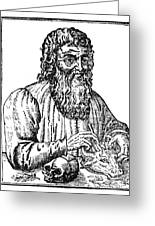 Hippocrates (c460-c377 B.c.) Greeting Card