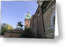 Historic Centre Cracow Poland  Greeting Card