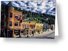 Historic Deadwood Greeting Card