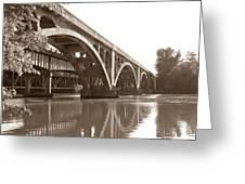 Historic Wil-cox Bridge Greeting Card