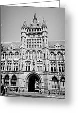 holborn bars former headquarters of the prudential assurance London England UK Greeting Card