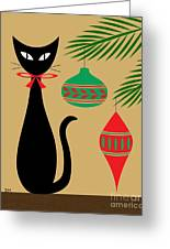 Holiday Cat Greeting Card