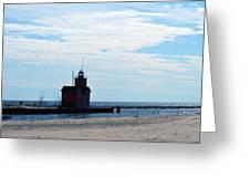 Holland Lighthouse Greeting Card