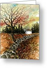 Home In The Distance Greeting Card