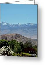 Home Is Nevada Greeting Card