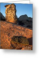 Hoodoos At Sunset Greeting Card