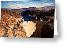 Hoover Dam Nevada Greeting Card