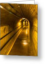 Hoover Dam Tunnel Greeting Card