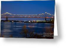 Horace Wilkinson Bridge Greeting Card
