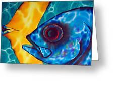 Horse -eyed Jack Greeting Card