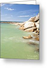 Horseshoe Bay South Australia Greeting Card