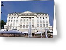 Hotel Esplanade Zagreb Greeting Card by Borislav Marinic
