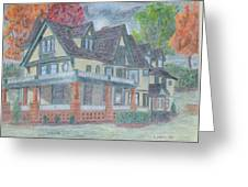 House Portrait #1 Greeting Card