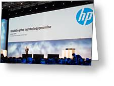 Hp Execute Vice President Dave Donatelli Greeting Card