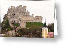 Hrad Beckov - Castle Greeting Card